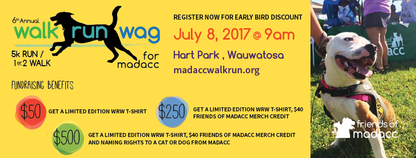 Fundraise with Friends of MADACC and earn great exclusives!